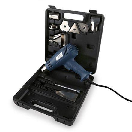 EBERTH Leistungsstarke Heißluftpistole mit 2000 Watt 2 Stufen Set mit Koffer Zubehör