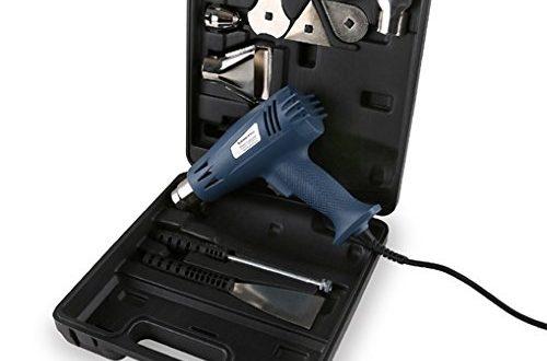 EBERTH Leistungsstarke Heissluftpistole mit 2000 Watt 2 Stufen Set mit 500x330 - EBERTH Leistungsstarke Heißluftpistole mit 2000 Watt 2 Stufen Set mit Koffer Zubehör